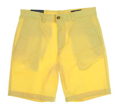 New Mens Vineyard Vines Breaker Shorts Size 33 Lemon Drop MSRP $75 1H0462-749