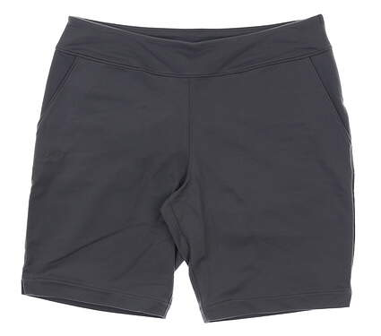 New Womens Under Armour Fitted Golf Shorts Size Medium M Gray MSRP $55