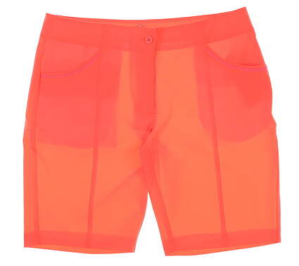 New Womens EP Pro Sport Mahalo Shorts Size 10 Volcanic Coral MSRP $89