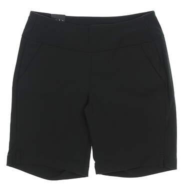 "New Womens Under Armour 9"" Golf Shorts Size Medium M Black MSRP $55"
