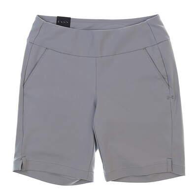"New Womens Under Armour 9"" Golf Shorts Size Medium M Gray MSRP $55"