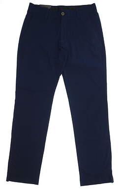 New Mens Under Armour Straight Leg Golf Pants 34x34 Navy Blue MSRP $75
