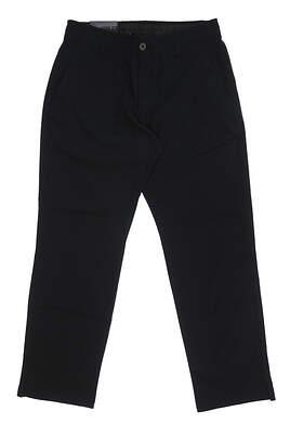 New Mens Under Armour Straight Leg Golf Pants 34x30 Black MSRP $75
