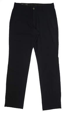 New Mens Under Armour Straight Leg Golf Pants 34x34 Black MSRP $75