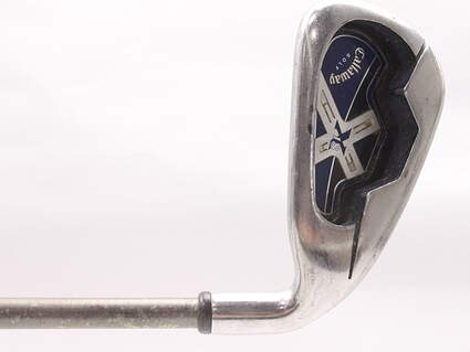 Callaway X-18 Single Iron 5 Iron Aerotech SteelFiber i80 Graphite Regular Right Handed 38 in