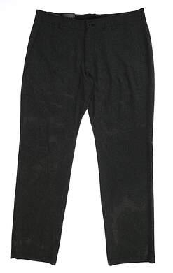 New Mens Under Armour Straight Leg Golf Pants 36x32 Gray MSRP $75