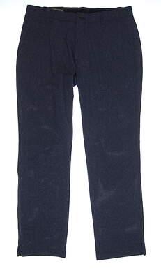New Mens Under Armour Straight Leg Golf Pants 36x32 Navy Blue MSRP $75
