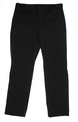 New Mens Under Armour Storm Proof Rain Pants Size Large L Black MSRP $85