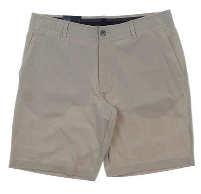 "New Mens Under Armour 10"" Inseam Golf Shorts Size 36 Khaki MSRP $65"