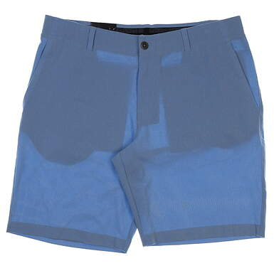 """New Mens Under Armour 10"""" Inseam Golf Shorts Size 36 Light Blue MSRP $65"""