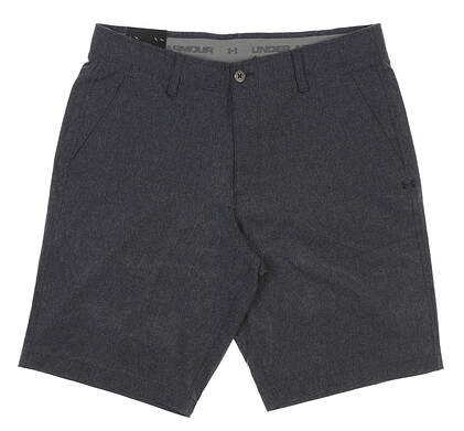 """New Mens Under Armour 10.5"""" Inseam Heathered Golf Shorts Size 34 Gray MSRP $65"""