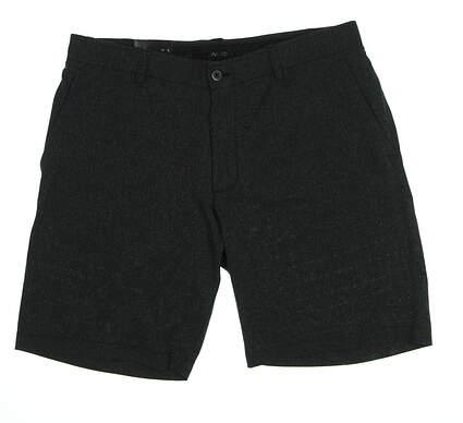 "New Mens Under Armour 10"" Inseam Heathered Golf Shorts Size 36 Dark Gray MSRP $65"