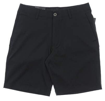 """New Mens Under Armour 10"""" Inseam Golf Shorts Size 32 Black MSRP $65"""