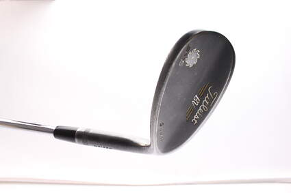 Titleist Vokey SM5 Raw Black Wedge Lob LW 60* 7 Deg Bounce S Grind Titleist SM5 BV Steel Wedge Flex Right Handed 35.5 in
