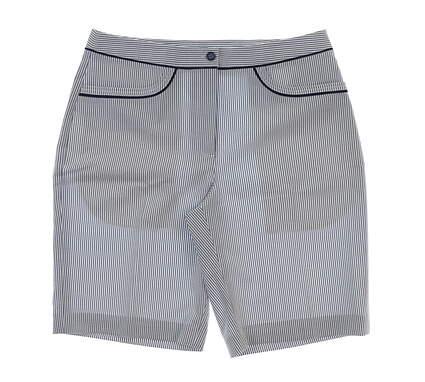 New Womens EP Pro Wild One Golf Shorts Size 10 Lapis Multi MSRP $74 8111WA