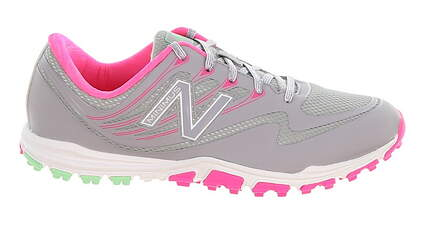 New Womens Golf Shoe New Balance Minimus Sport Medium 9.5 Gray/Pink MSRP $100