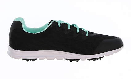 New Womens Golf Shoe Footjoy enJoy Medium 9.5 Black MSRP $80