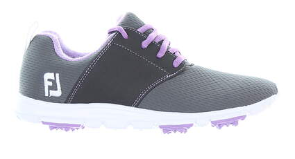 New Womens Golf Shoe Footjoy enJoy Medium 6.5 Gray MSRP $80