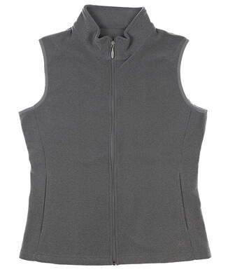 New Womens Straight Down Ginger Golf Vest Medium M Gray MSRP $60