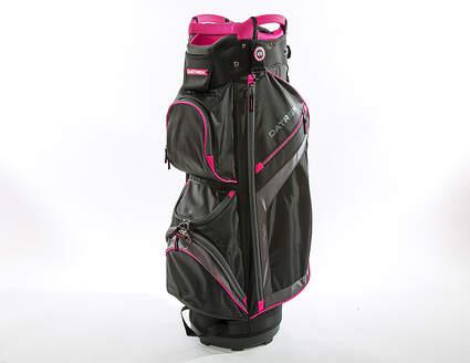 New Datrek DG Lite II Cart Bag Black/Charcoal/Pink