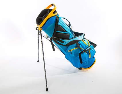 New Datrek Trekker Ultra Lite Stand Bag Electric Blue/Yellow