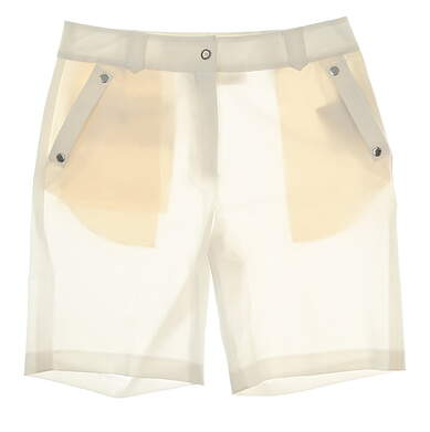 New Womens EP Pro Animal Instincts Golf Skort Size 8 White MSRP $74