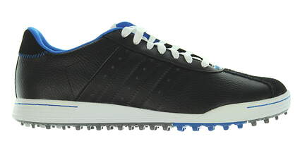 New Mens Golf Shoe Adidas Adicross II Medium 10 Black MSRP $120