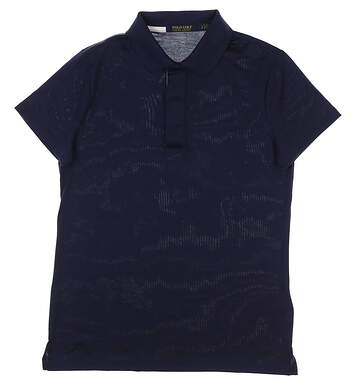New Womens Ralph Lauren Golf Polo Small S Navy Blue MSRP $90