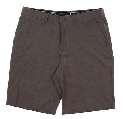 New Mens Johnnie-O Wyatt Golf Shorts Size 38 Steel MSRP $85 JMSH1410
