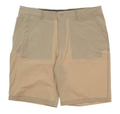 New Mens Johnnie-O Wyatt Golf Shorts Size 38 Stone MSRP $85 JMSH1410