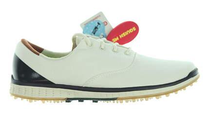 New Womens Golf Shoe Skechers Go Golf Elite 2 Stellar 8.5 Natural/Navy MSRP $80