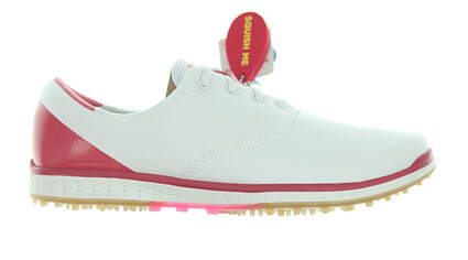 New Womens Golf Shoe Skechers Go Golf Elite 2 Stellar 10 White/Pink MSRP $80