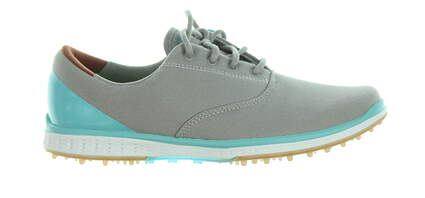 New Womens Golf Shoe Skechers Go Golf Elite 2 Stellar 7 Charcoal/Blue MSRP $80