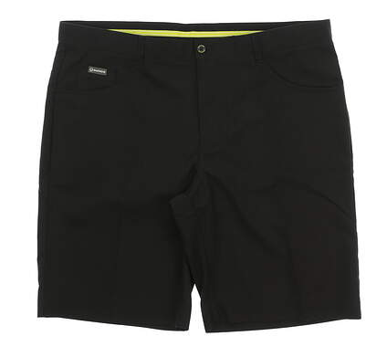 New Mens SUNICE Golf Shorts Size 38 Black MSRP $75 8922