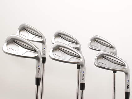 Ping i200 Iron Set 5-PW Nippon NS Pro Modus 3 Tour 105 Steel Regular Right Handed Blue Dot 38 in
