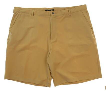 New Mens Dunning Golf Shorts Size 40 Khaki MSRP $79