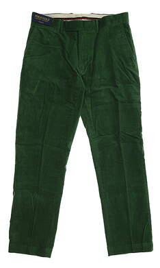 New Mens Ralph Lauren Corduroy Golf Pants 36x32 Green MSRP $125