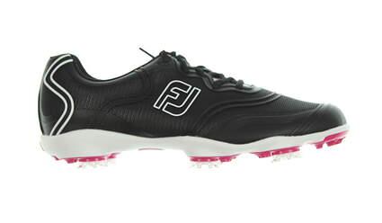 New Womens Golf Shoe Footjoy Aspire Medium 8 Black MSRP $160
