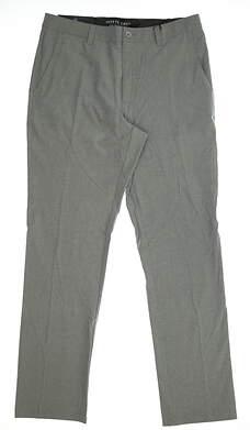 New Mens MATTE GREY Golf Pants Size 34 Gray MSRP $105