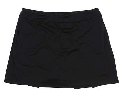 New Womens EP Pro NY Golf Skort Size X-Large XL Black MSRP $74 NS1000