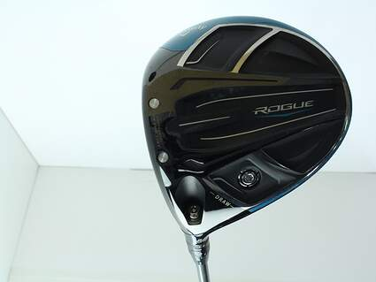 Callaway Rogue Draw Driver 10.5* Aldila Synergy Blue 50 Graphite Regular Left Handed 45.75 in