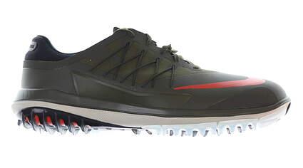 New Mens Golf Shoe Nike Lunar Control Vapor 9.5 Cargo Khaki/ Lava Glow MSRP $175