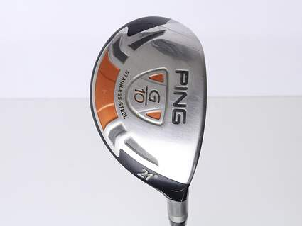 Ping G10 Hybrid 3 Hybrid 21* Ping AWT Steel Stiff Right Handed 39.25 in