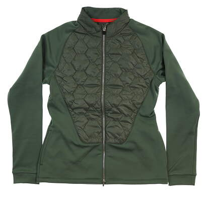 New Womens Puma PWRWARM Extreme Jacket Small S Laurel Wreath MSRP $150 576143