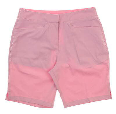 New Womens Puma Pounce Bermuda Shorts Size Small S Pale Pink MSRP $65 577944 04