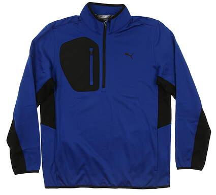 New Mens Puma Tech 1/4 Zip Pullover Medium M Surf the Web MSRP $90 577897 03