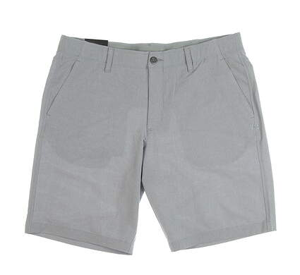 New Mens Under Armour Golf Shorts Size 38 Gray MSRP $68 UM2360