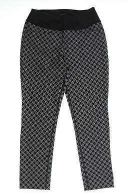 New Womens Puma PWRSHAPE Checker Golf Pants Size Small S Black/Gray MSRP $85 577955 02