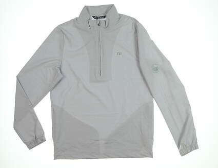 New W/ Logo Mens Travis Mathew Luca Jacket Small S Gray MSRP $140 1MO231