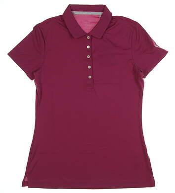 New Womens Puma Pounce Golf Polo Small S Magenta Haze MSRP $50 574652 10